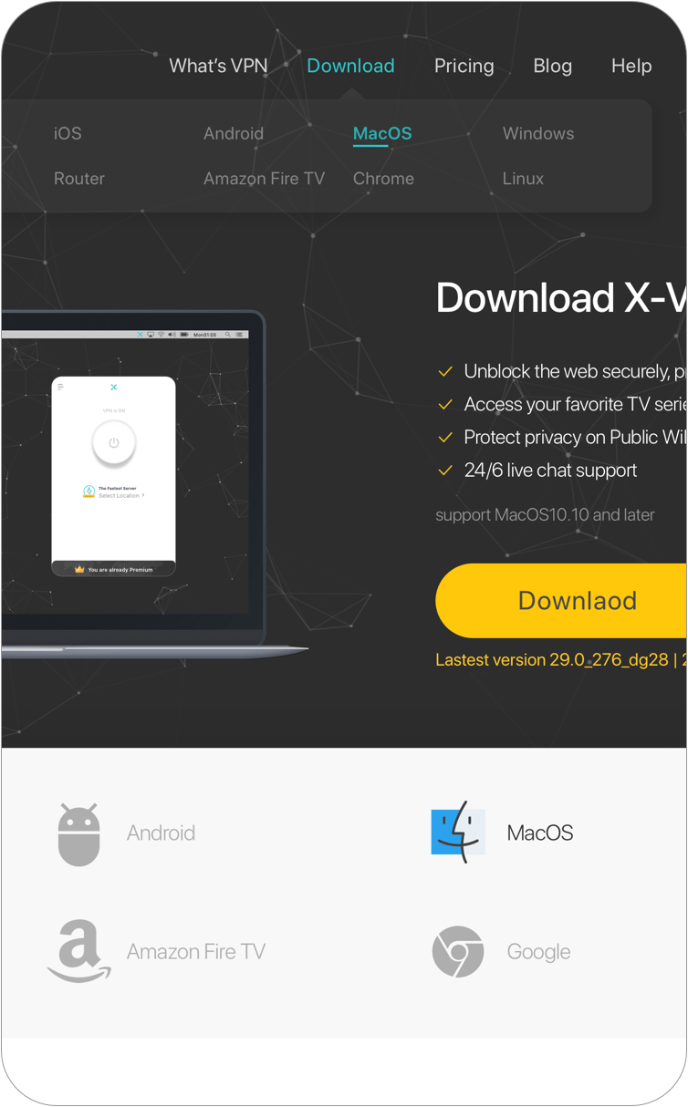 Secure VPN for Mac | X-VPN